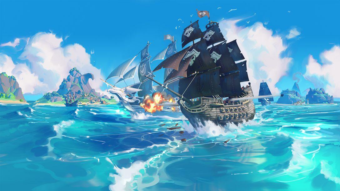 De rei da estrada para rei dos mares, King of the Seas chega ainda este ano para PS4