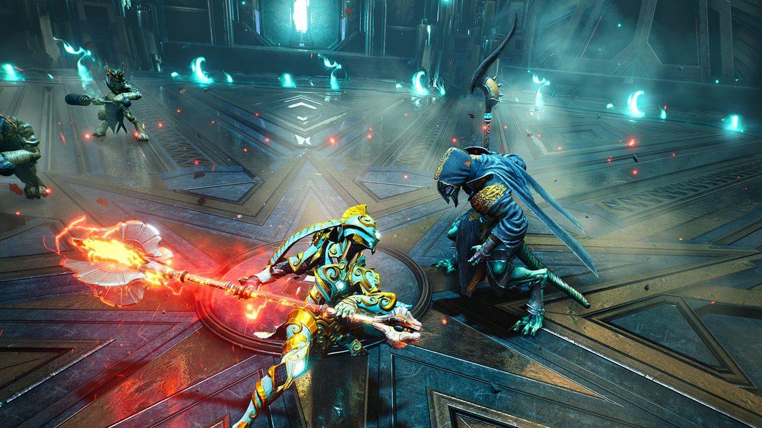 Prepare-se para a batalha com um mergulho nas técnicas de combate de Godfall