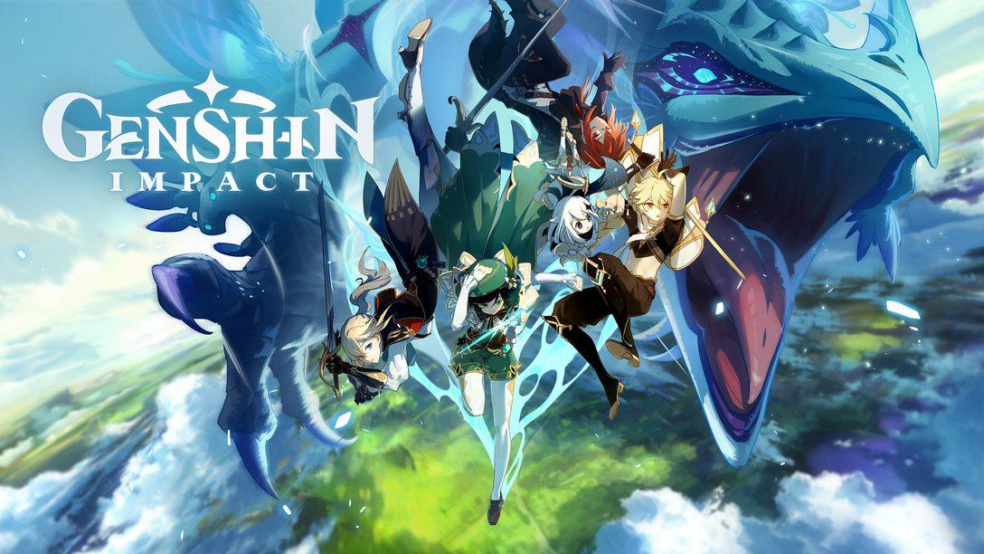 A aventura de Genshin Impact começa hoje