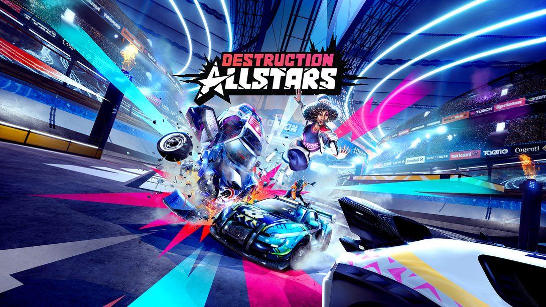 Quebre tudo para vencer em Destruction AllStars, disponível para PS5 em novembro