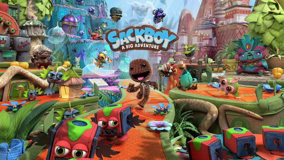 Embarque em uma jornada 3D épica em Sackboy: Uma Grande Aventura