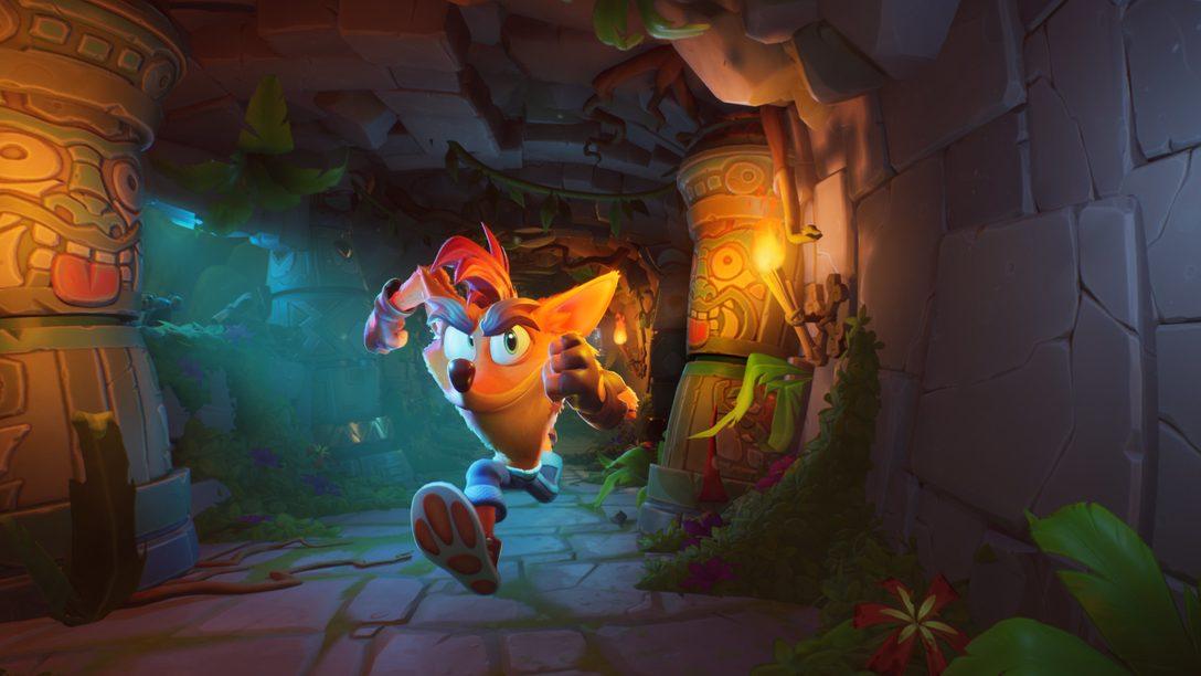 Crash Bandicoot 4: It's About Time rodopia e chega para PS4 dia 2 de outubro