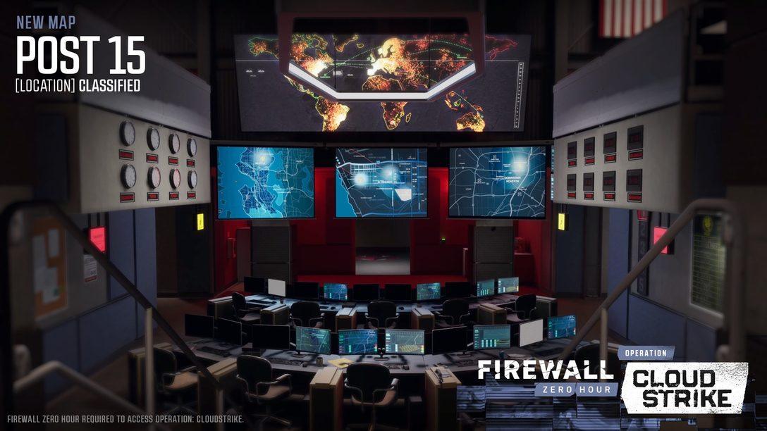 Operation: Cloudstrike, a sexta temporada de Firewall: Zero Hour, chega hoje para PS VR