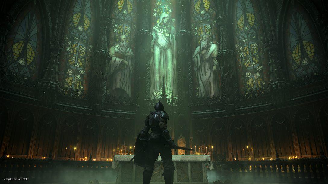 Novo gameplay de Demon's Souls revela chefes, locais, e mais