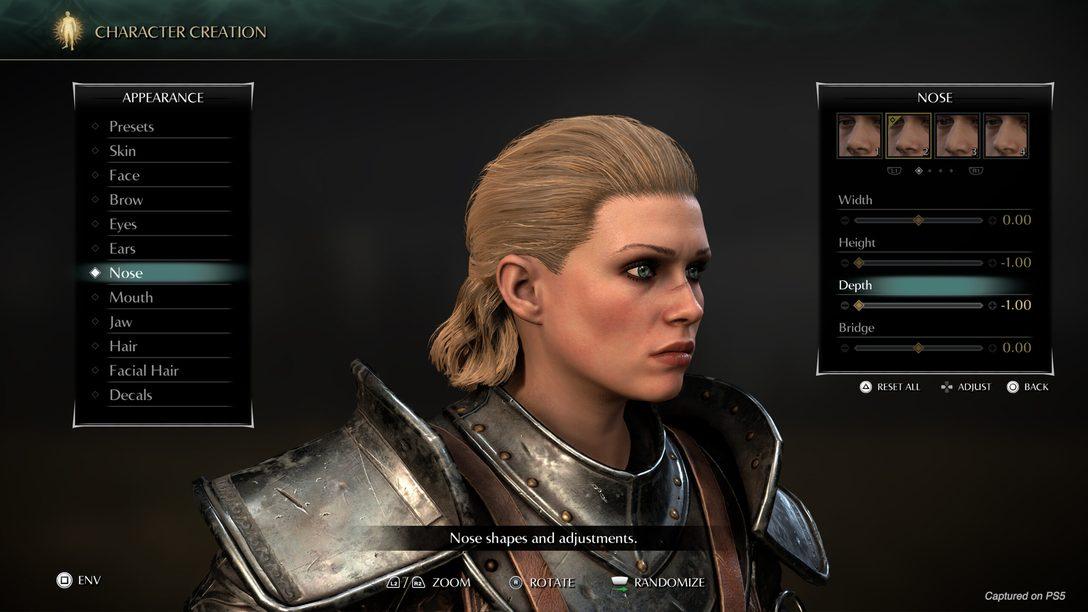 Fique por dentro do Photo Mode e da criação de personagens de Demon's Souls
