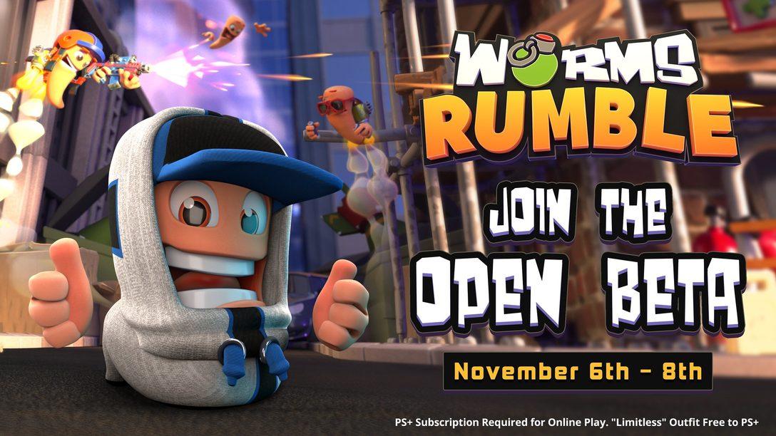 7 dicas para dominar o Beta Aberto de Worms Rumble no fim de semana