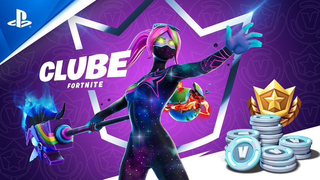 Epic Games anuncia o Clube Fortnite, a nova assinatura mensal de Fortnite