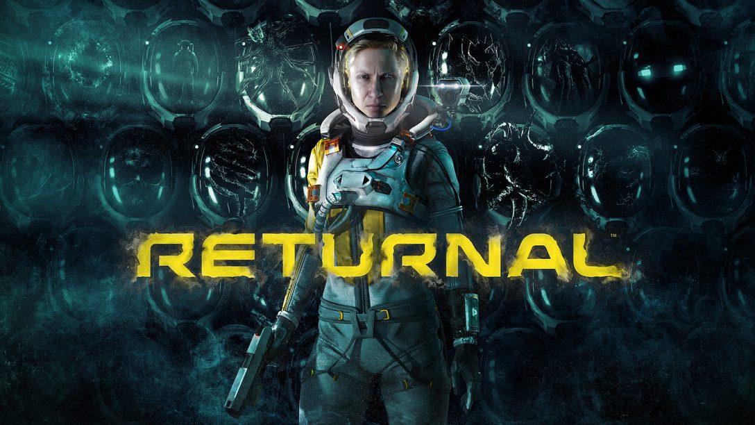 Returnal chega para PS5 dia 19 de março de 2021