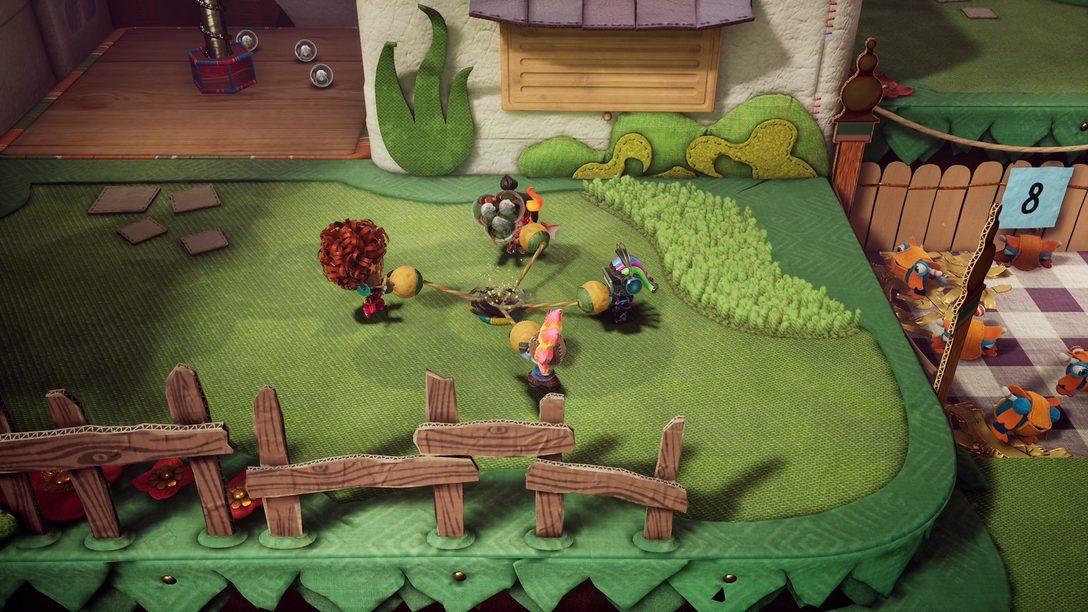 A atualização de Sackboy: Uma Grande Aventura chega hoje, com multiplayer online