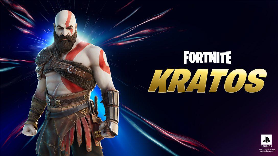 Junte-se à caça como Kratos no Capítulo 2: Temporada 5 de Fortnite