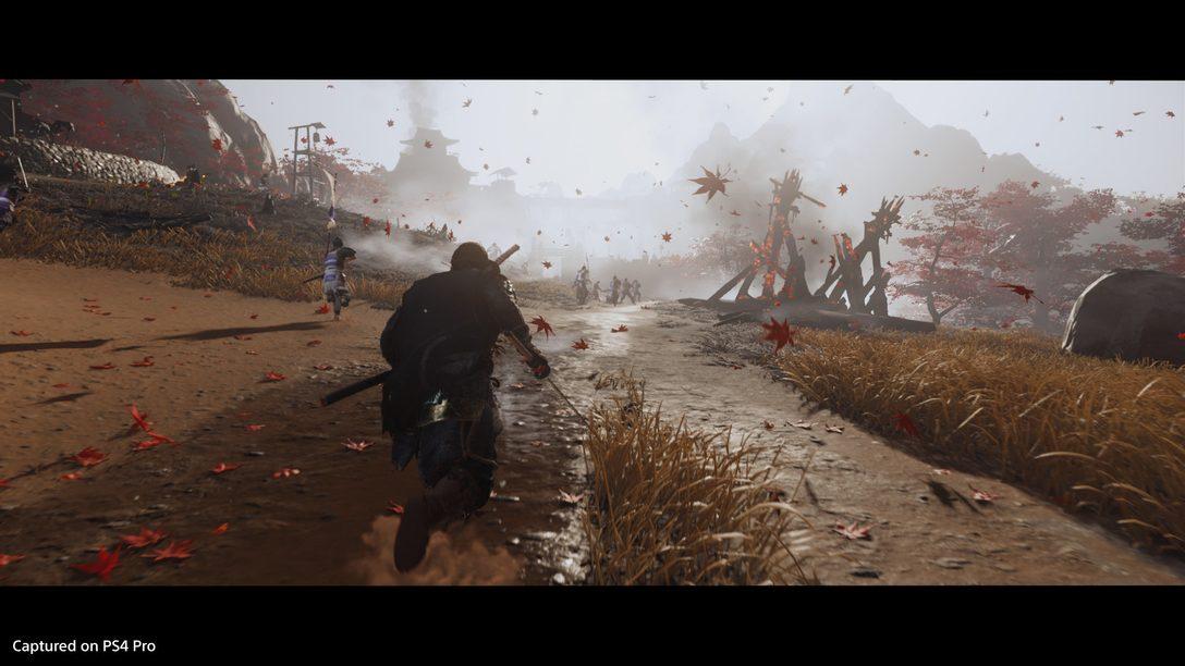 Como os incríveis efeitos visuais de Ghost of Tsushima trouxeram o jogo à vida