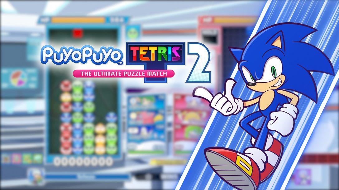 Sonic the Hedgehog chega correndo na atualização gratuita de hoje de Puyo Puyo Tetris 2