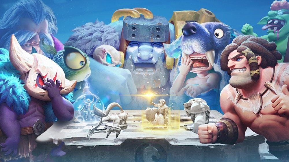 O jogo de batalhas estratégicas entre heróis Auto Chess chega para PS4 dia 27 de janeiro
