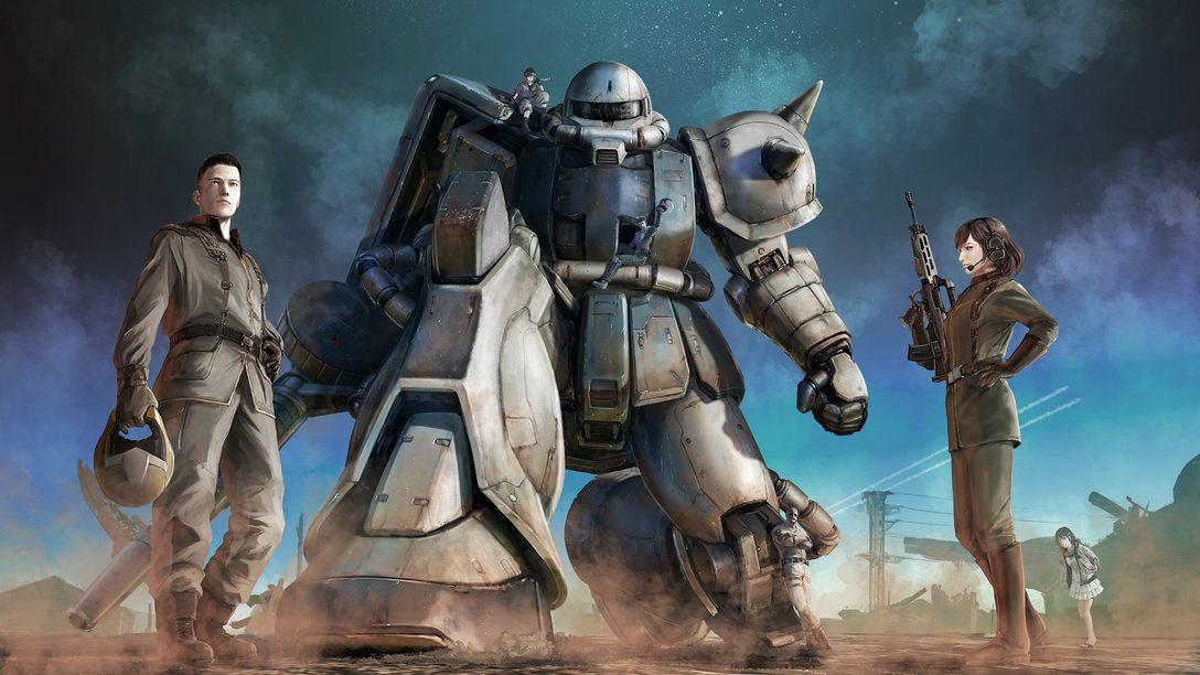 Mobile Suit Gundam Battle Operation 2 chega para PS5 em 28 de janeiro