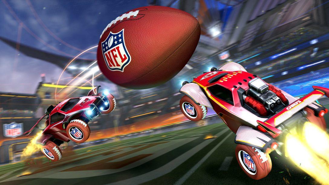 Prepare-se para a comemoração do NFL Super Bowl LV em Rocket League
