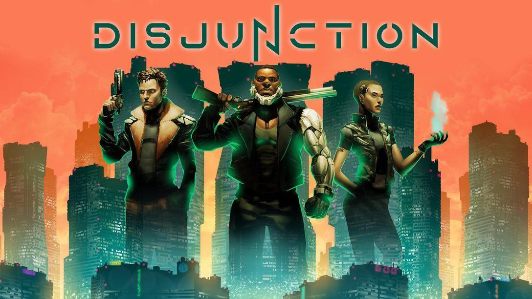 O RPG de ação Disjunction chega para PS4 dia 28 de janeiro