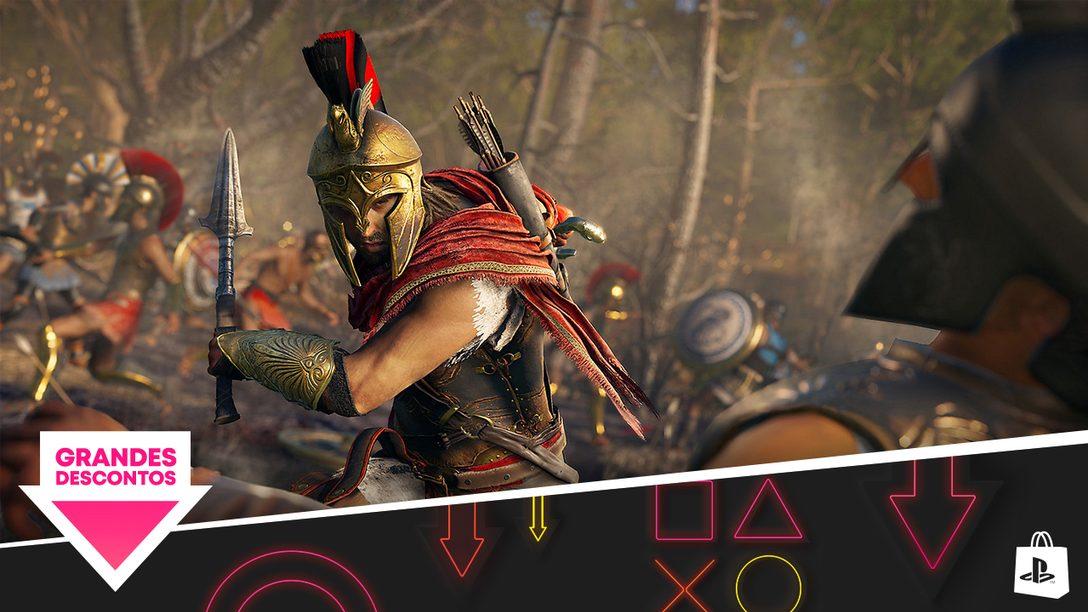 A promoção Grandes Descontos chega na PlayStation Store