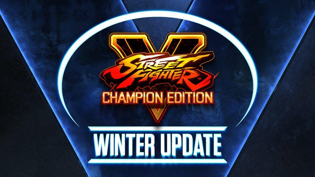 A Season 5 de Street Fighter V começa dia 22 de fevereiro