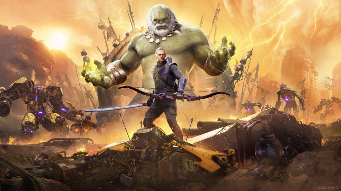 Hawkeye chega em Marvel's Avengers no dia 18 de março
