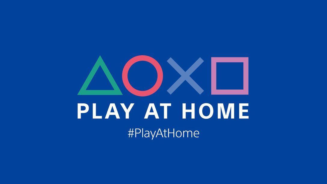 A iniciativa Play At Home está de volta: 4 meses de jogos PlayStation a partir do dia 2 de março