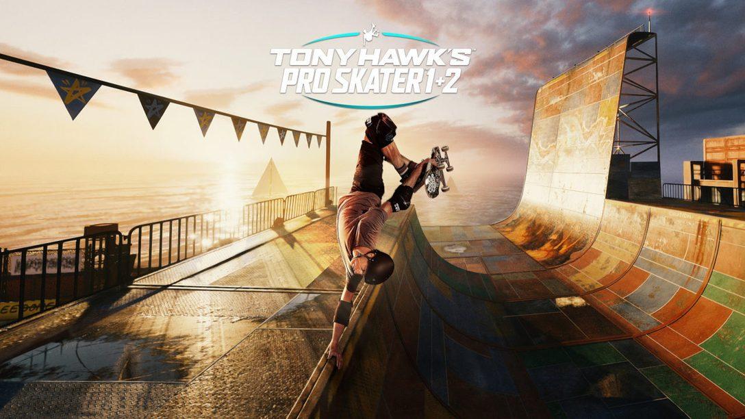Tony Hawk's Pro Skater 1 + 2 chega para PS5 dia 26 de março