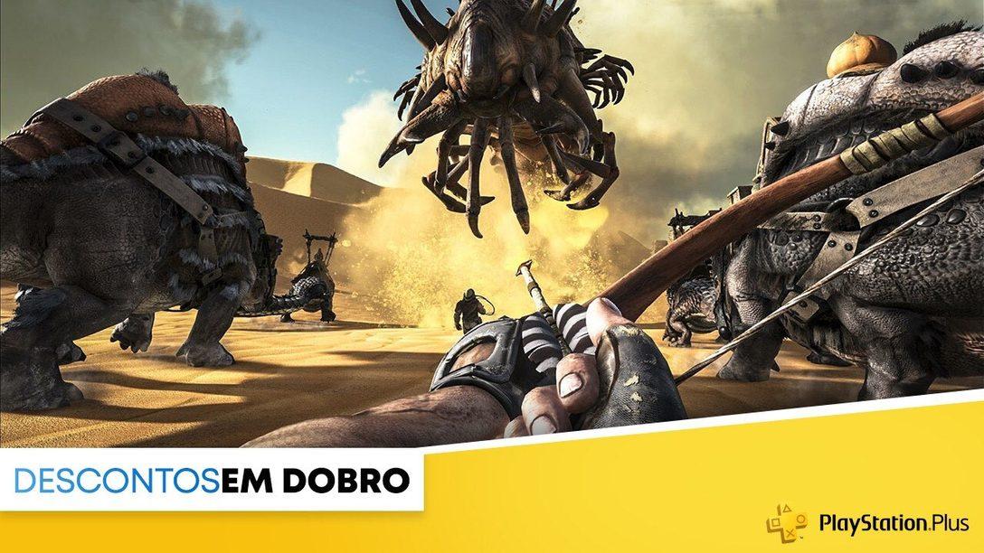 A promoção Descontos em Dobro da PlayStation Store começa hoje