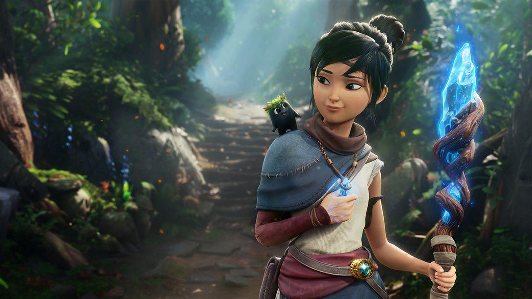 Novos detalhes da história e do gameplay revelados em um emocionante trailer de Kena: Bridge of Spirits