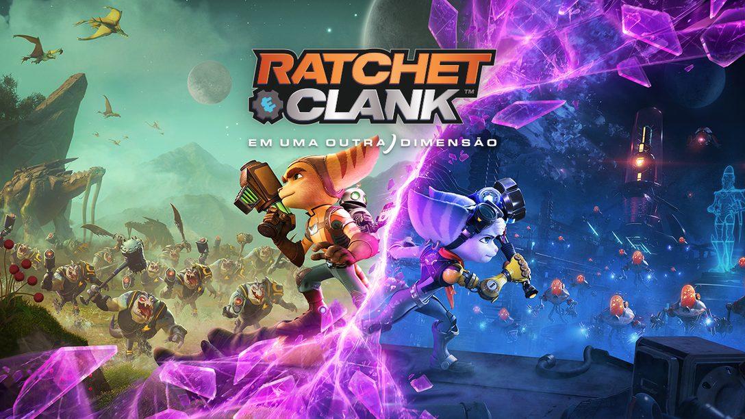 Ratchet & Clank: Em Uma Outra Dimensão chega dia 11 de junho para PS5