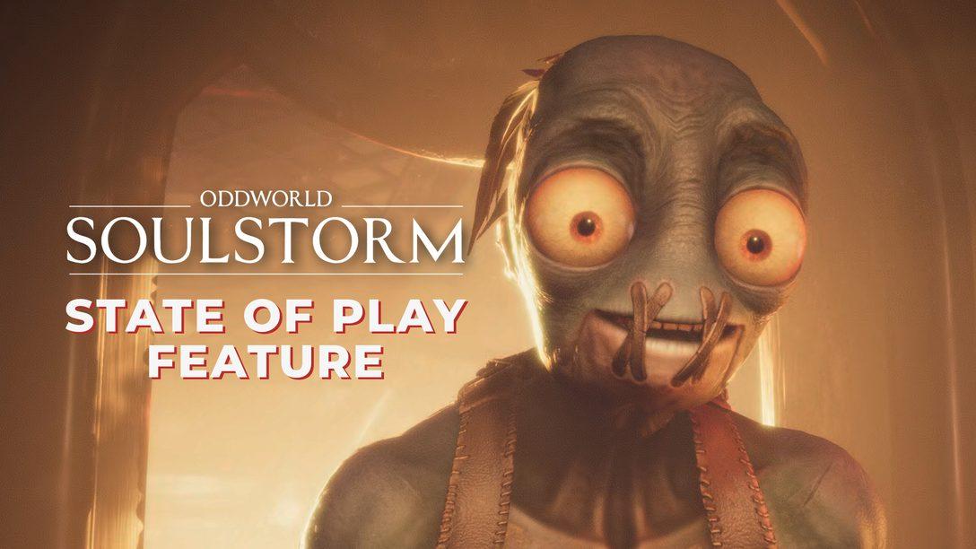 Oddworld: Soulstorm chega para PS4 e PS5 no dia 6 de abril