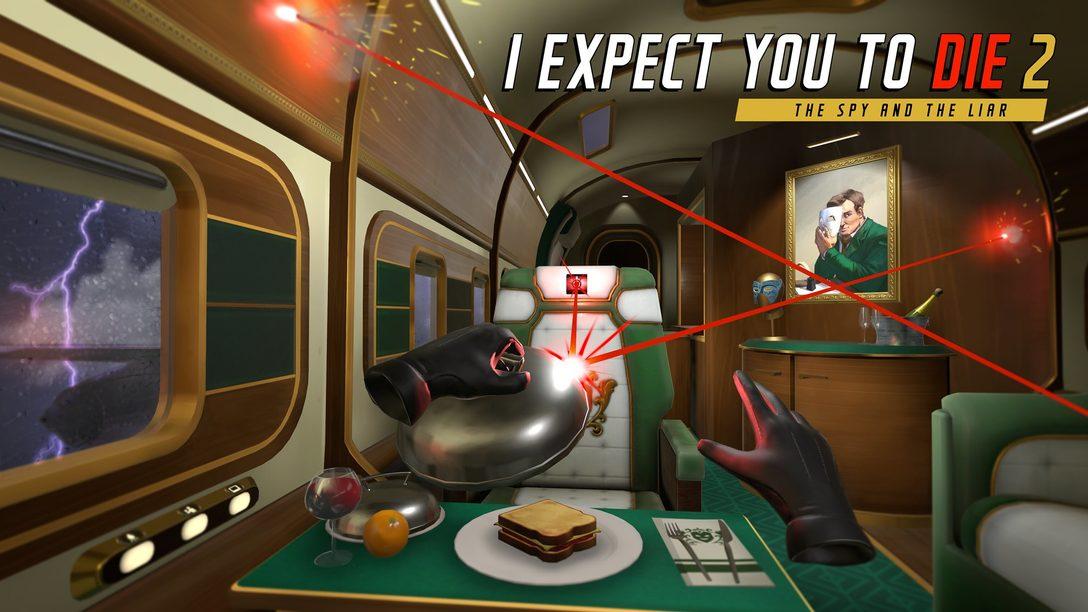 I Expect You To Die 2: The Spy And The Liar de volta para PS VR