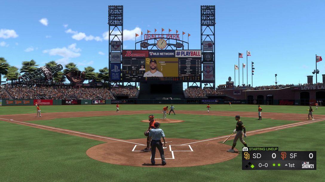 MLB The Show 21: Gameplay & Recursos