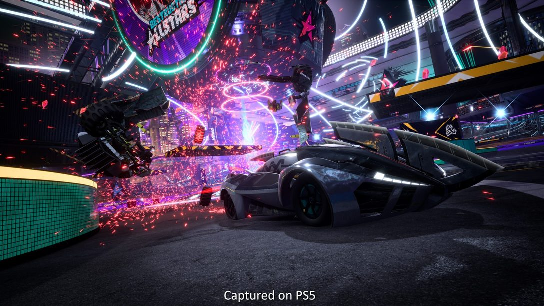 Entrevista de Destruction AllStars: os segredos da tecnologia do PS5 que dão vida ao game de batalha entre carros