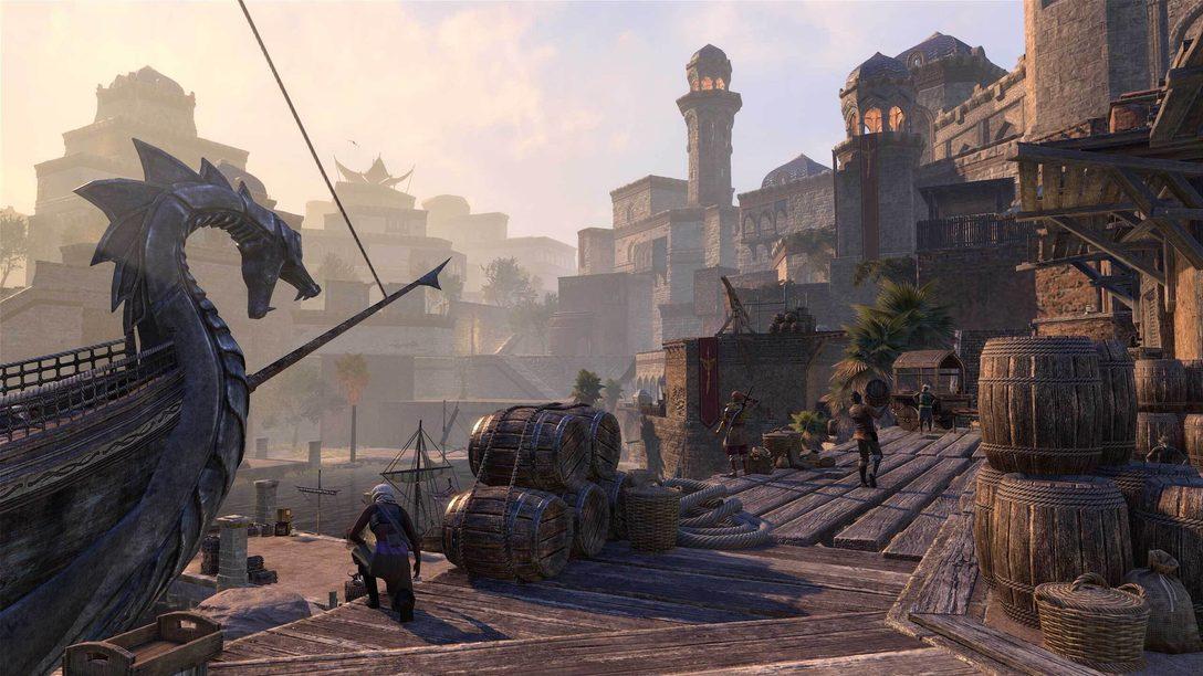 The Elder Scrolls Online: Console Enhanced chega para PS5 dia 8 de junho
