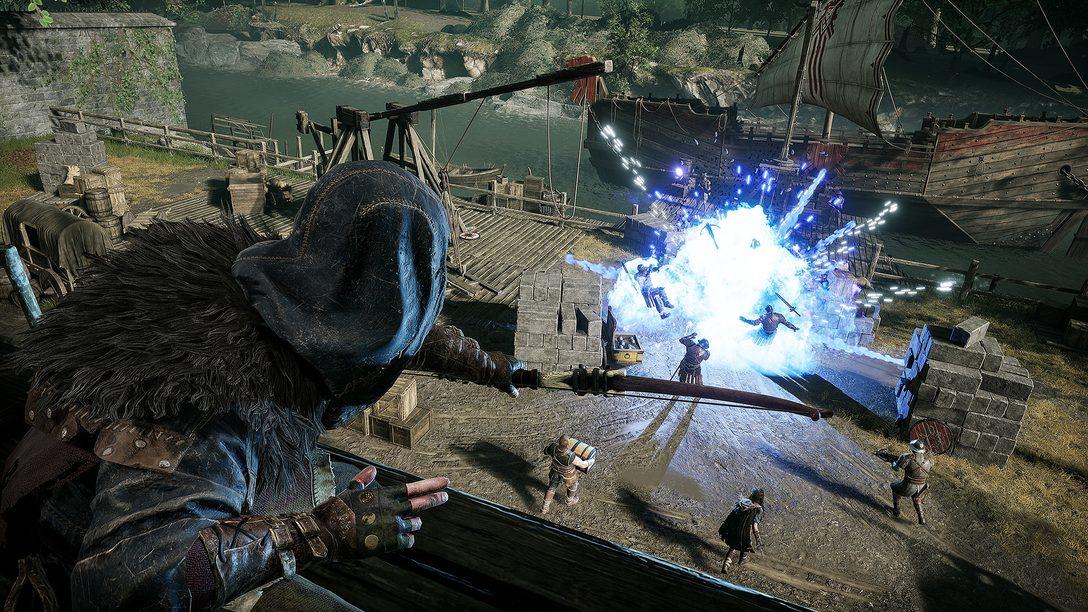 Aproveitando os recursos do DualSense em Hood: Outlaws & Legends
