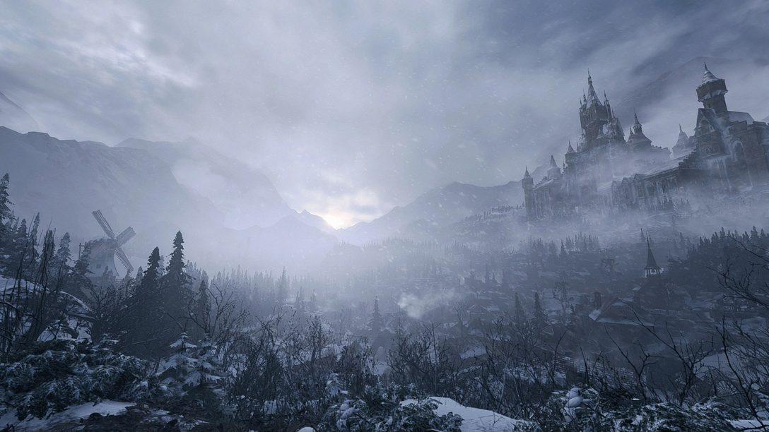 A nova demo de Resident Evil Village os convida para o Castelo Dimitrescu amanhã