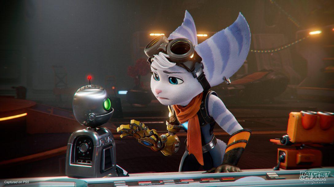 Conheça Rivet, a nova protagonista misteriosa de Ratchet & Clank: Em Uma Outra Dimensão