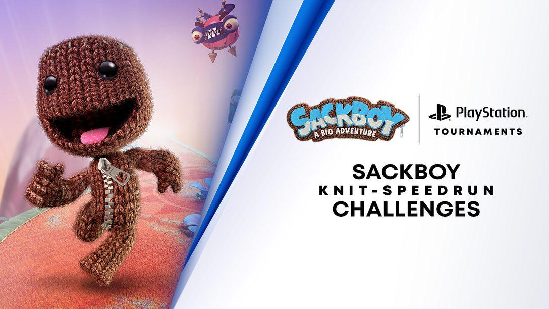Teste suas habilidades e reflexos no novo Knit-Speedrun Challenge de Sackboy: Uma Grande Aventura