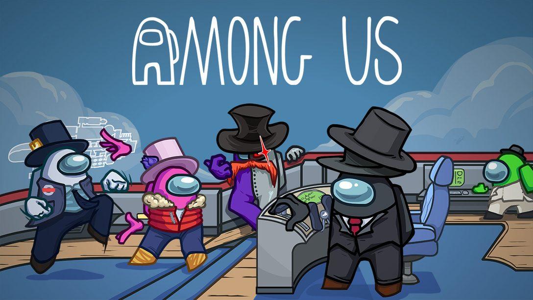 Junte a tripulação – Among Us chega para PS4 e PS5 este ano!