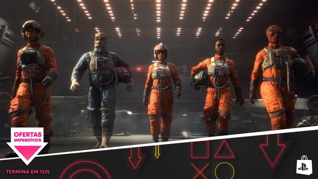 A Promoção Ofertas Imperdíveis da PlayStation Store está de volta!