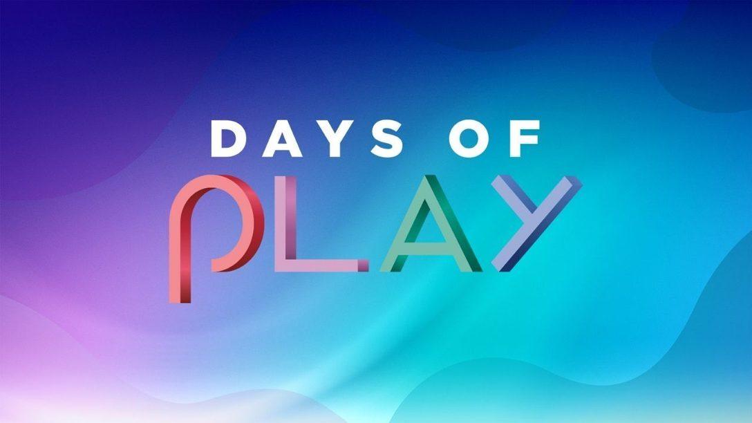 As atividades do Days of Play 2021 começaram dia 18, com a PlayStation Player Celebration; e as ofertas começam em 26 de maio
