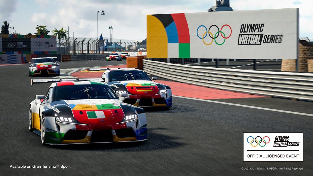 O primeiro torneio Olympic Virtual Series Motor Sport Event chega dia 23 de junho