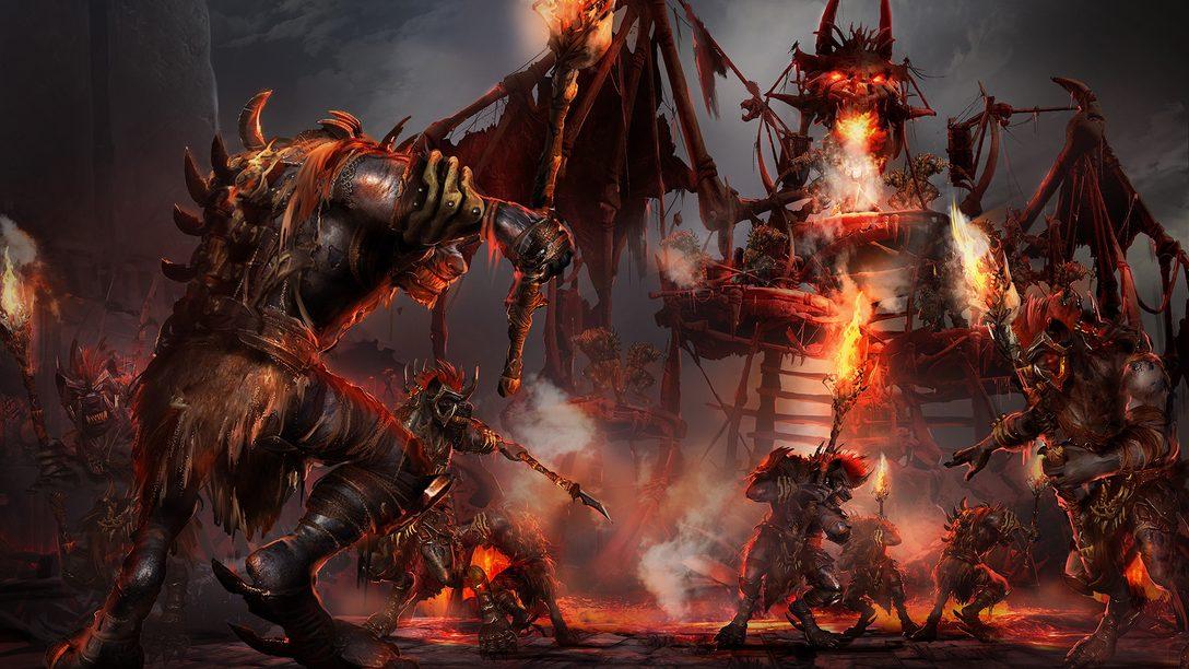 Uma prévia detalhada do estilo de arte de Dark Alliance