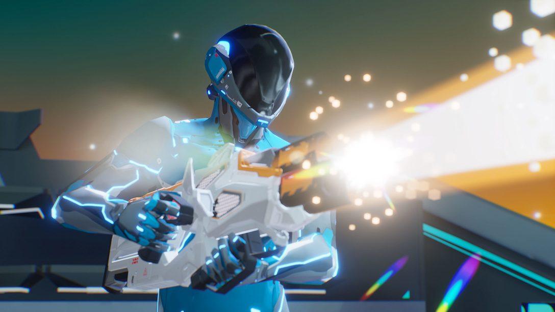 Um game multiplayer de tiro super veloz, Solaris Offworld Combat chega amanhã para PS VR
