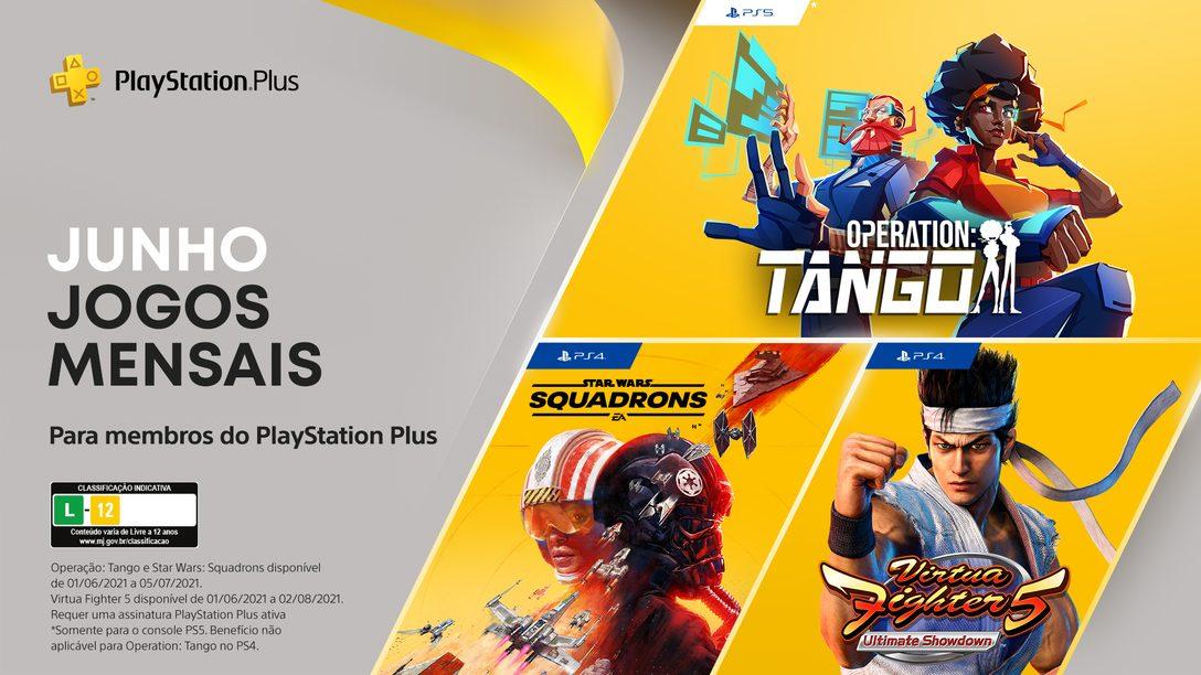 Jogos PlayStation Plus em junho: Operation: Tango, Virtua Fighter 5: Ultimate Showdown, Star Wars Squadrons