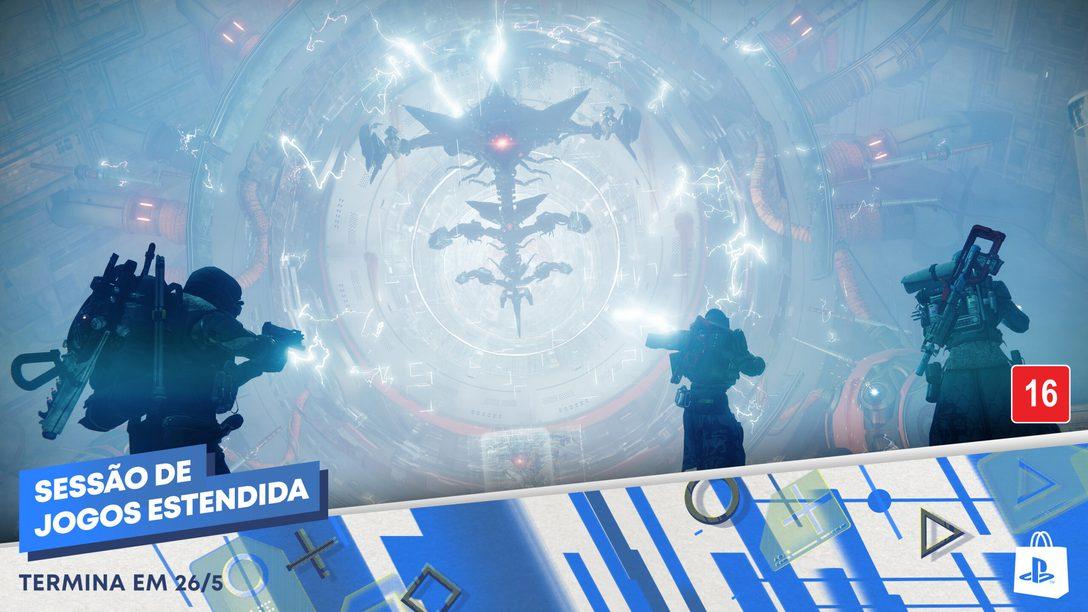 A Promoção Sessão de Jogos Estendida da PlayStation Store chegou!