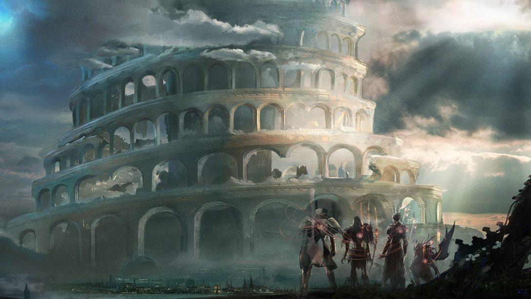 Boas vindas ao mundo de Babylon's Fall