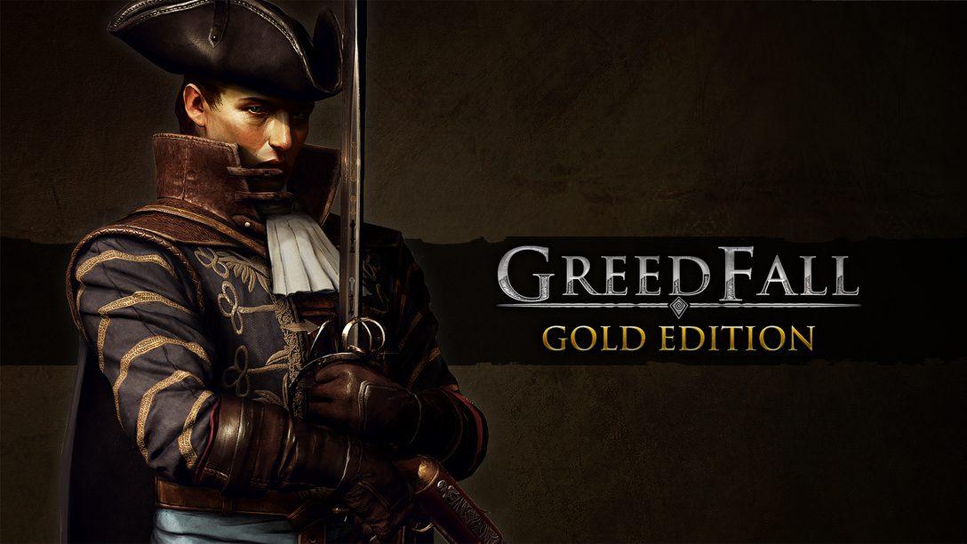 Greedfall recebe uma versão para PS5 e uma nova expansão no dia 30 de junho