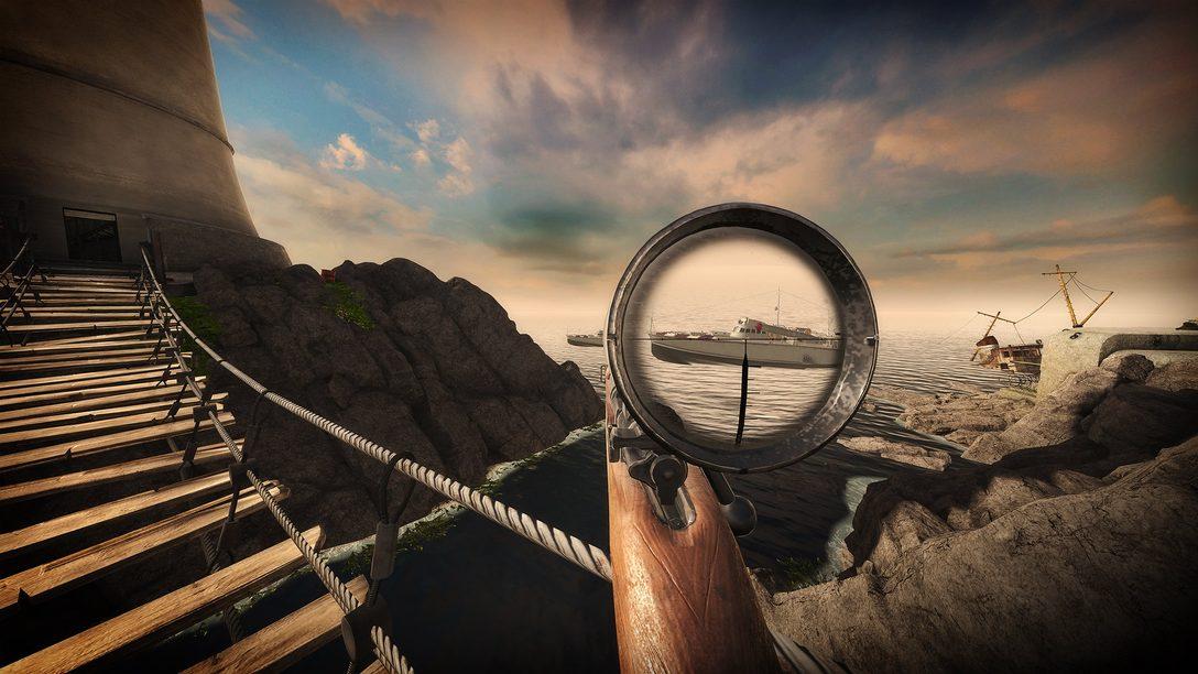Sniper Elite VR será lançado para PS VR em 8 de julho