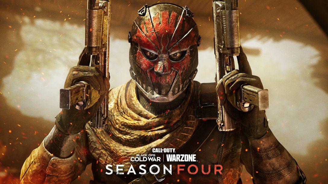 A Temporada Quatro de Black Ops Cold War e Warzone chega dia 17 de junho