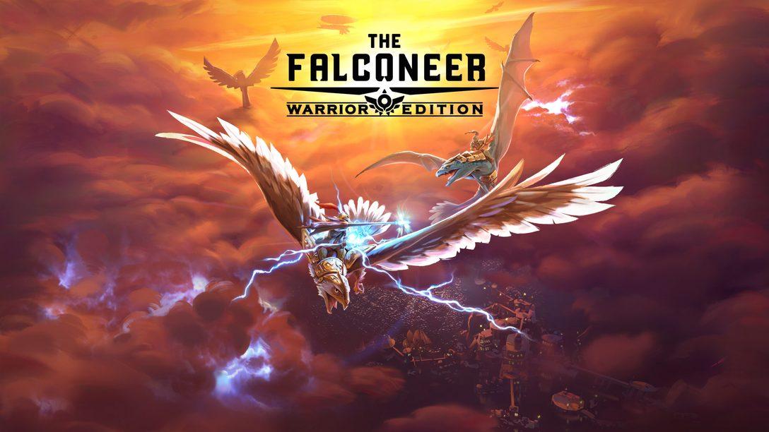 Mergulhe no mundo de The Falconeer com o poder do PS5